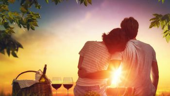 Romantisches Frühlingserwachen