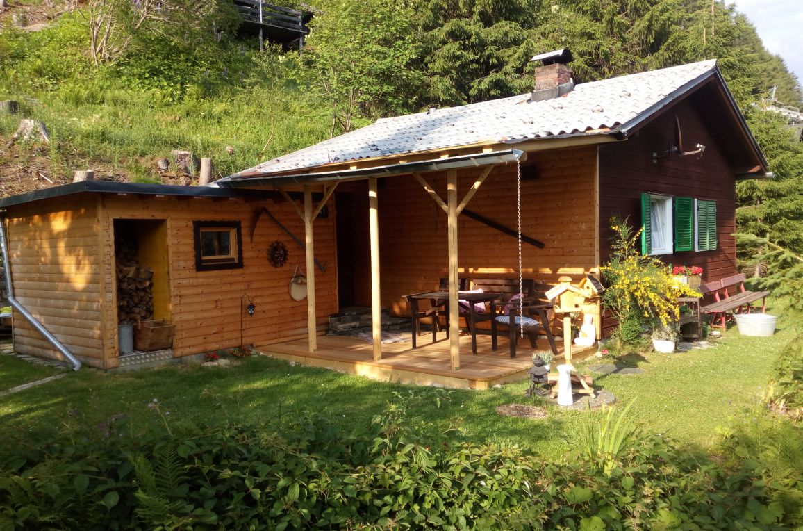 Bärbels Panoramahütte, Sommer