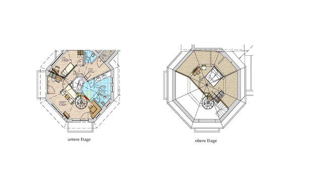 Turmsuite | 75 qm - 3-Raum