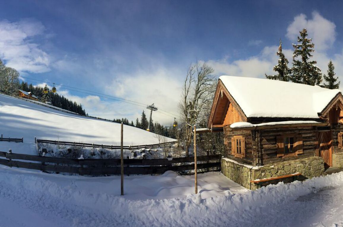 Schladming Dachstein Zirbenhütte, Winter