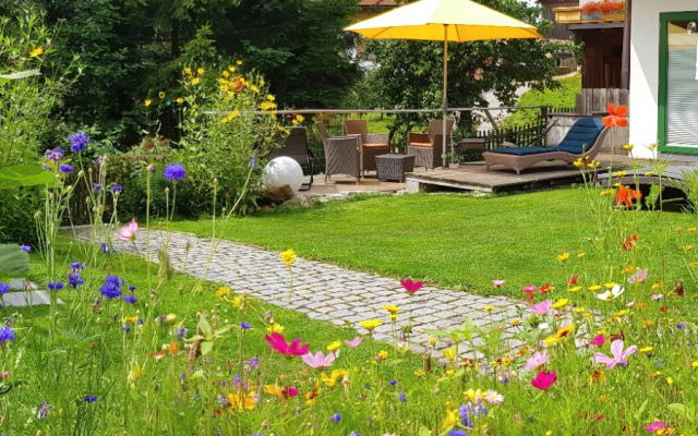 die BIO Sportpension: Garten