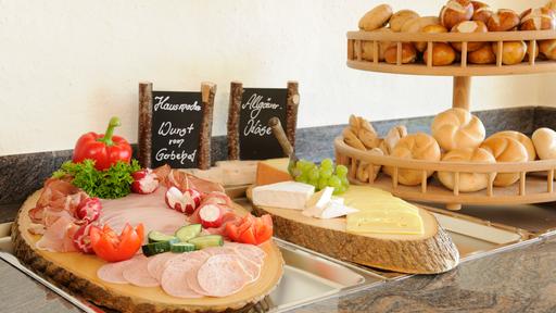 Biohotel Gerbehof: Frühstück