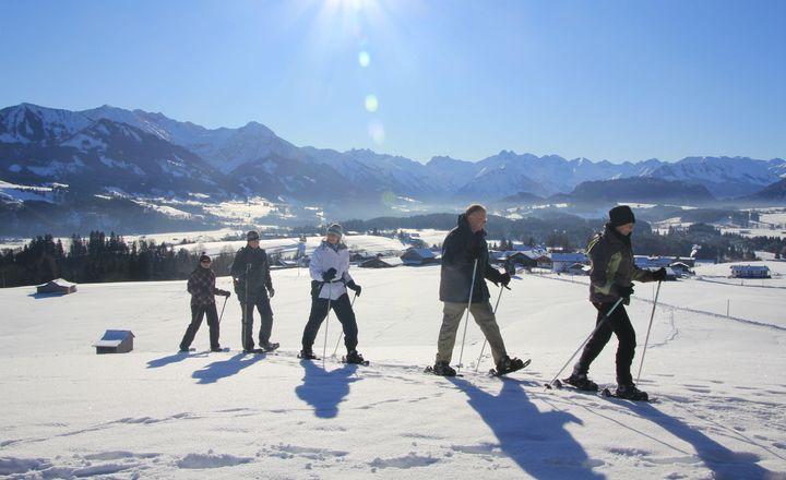 Allgäuer Alpenglühn