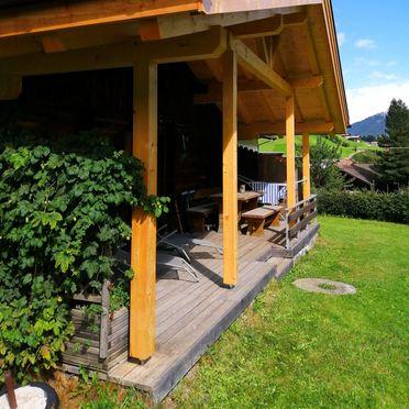 Sommer, Ausserhof Hütte in Weissenbach, Südtirol, Trentino-Südtirol, Italien