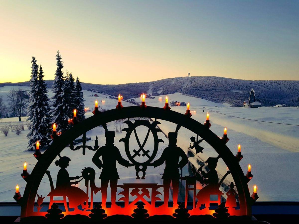 Weiße Weihnachten  in der Residenz am Elldus Resort