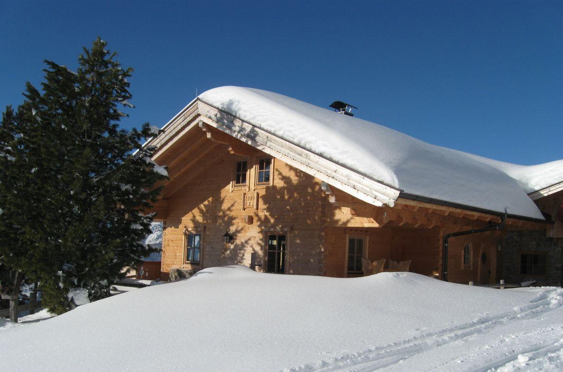 Steinbergalm, Winter