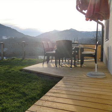 Terrace, Chalet Mödlinghof, Hopfgarten bei Kitzbühel, Tirol, Tyrol, Austria