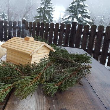 Winter Deko, Rengerberg Hütte, Bad Vigaun, Salzburg, Salzburg, Österreich