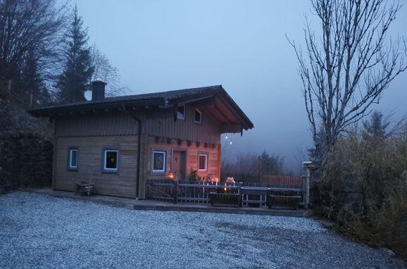 Winter, Rengerberg Hütte in Bad Vigaun, Salzburg, Salzburg, Österreich