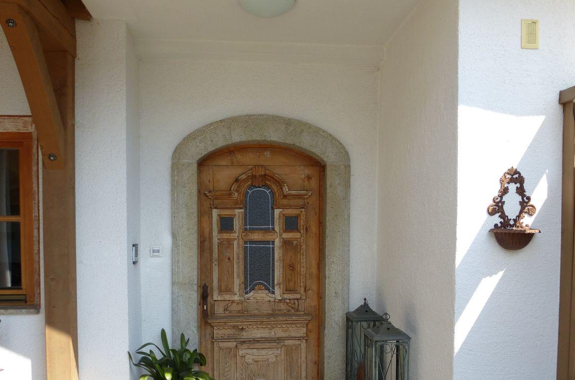 Ferienhaus am Sonnblick, Eingang