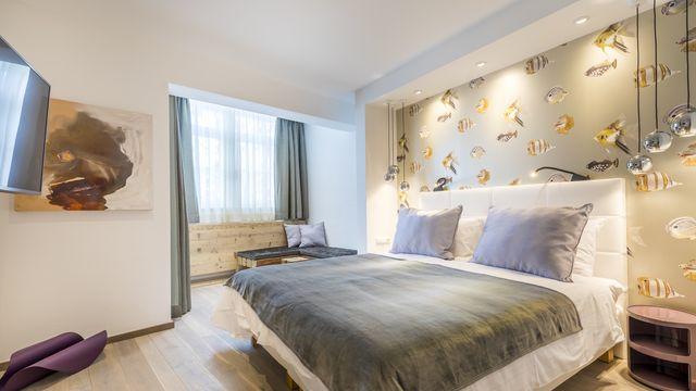 Doppelzimmer Komfort+ mit Balkon