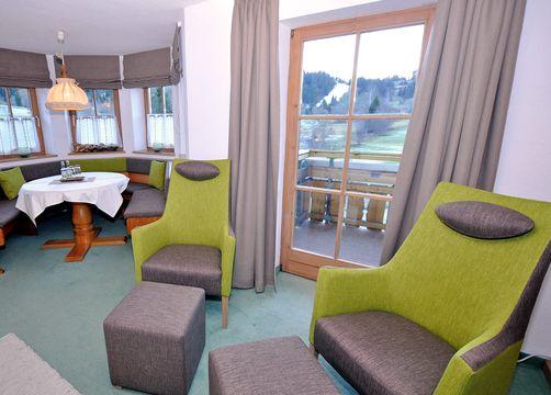 Biohotel Schratt Zimmer Doppelzimmer Hochgrat (4/6) - Berghüs Schratt