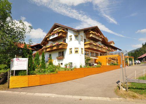 Biohotel Schratt: Vegetarisches und Veganes Biohotel - Berghüs Schratt, Oberstaufen-Steibis, Allgäu, Bayern, Deutschland
