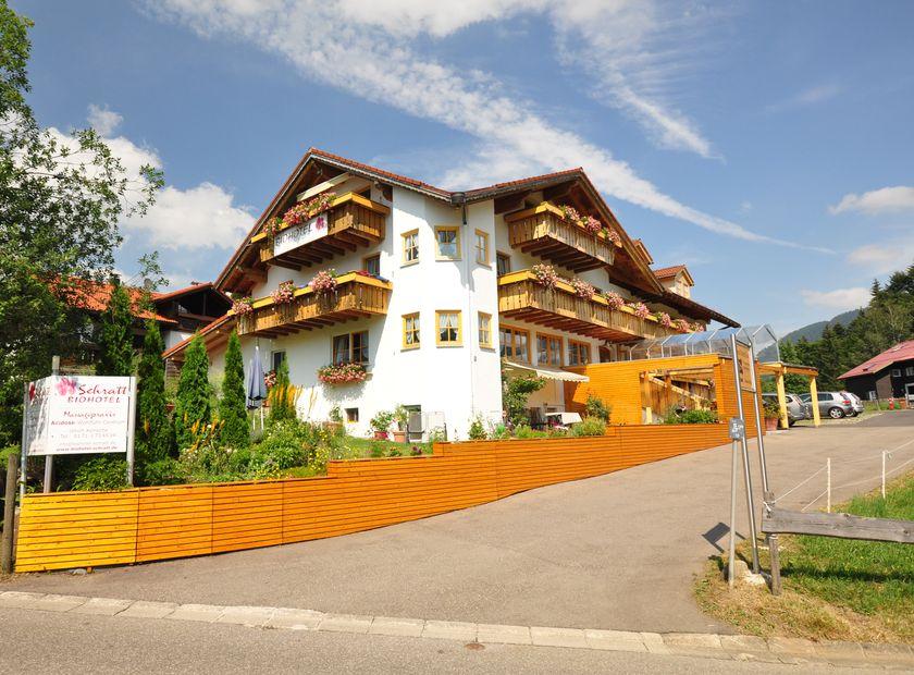 Berghüs Schratt, Oberstaufen-Steibis, Allgäu, Baviera, Germania (1/26)