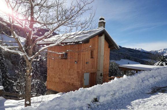 Winter, Achtchalet, Großarl, Salzburg, Salzburg, Österreich