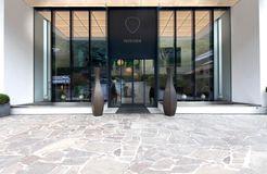 Biohotel Pazeider: Eingang - Bio- und Wellnesshotel Pazeider, Marling bei Meran, Trentino-Südtirol, Italien