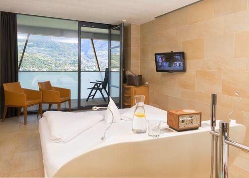 Double view Merano romantic (1/3) - Bio- und Wellnesshotel Pazeider