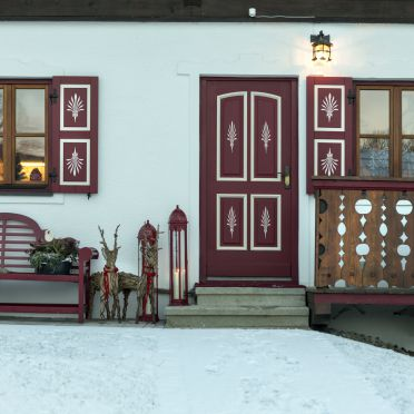 Chalet Hinterweiding Gut, Winter