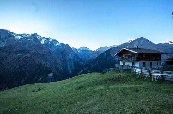 summer, Almhütte Hoanza in Matrei , Tirol, Tyrol, Austria