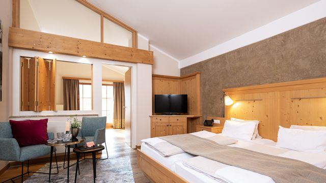 Stammhaus Familienzimmer | 45 m² - 1 Raum