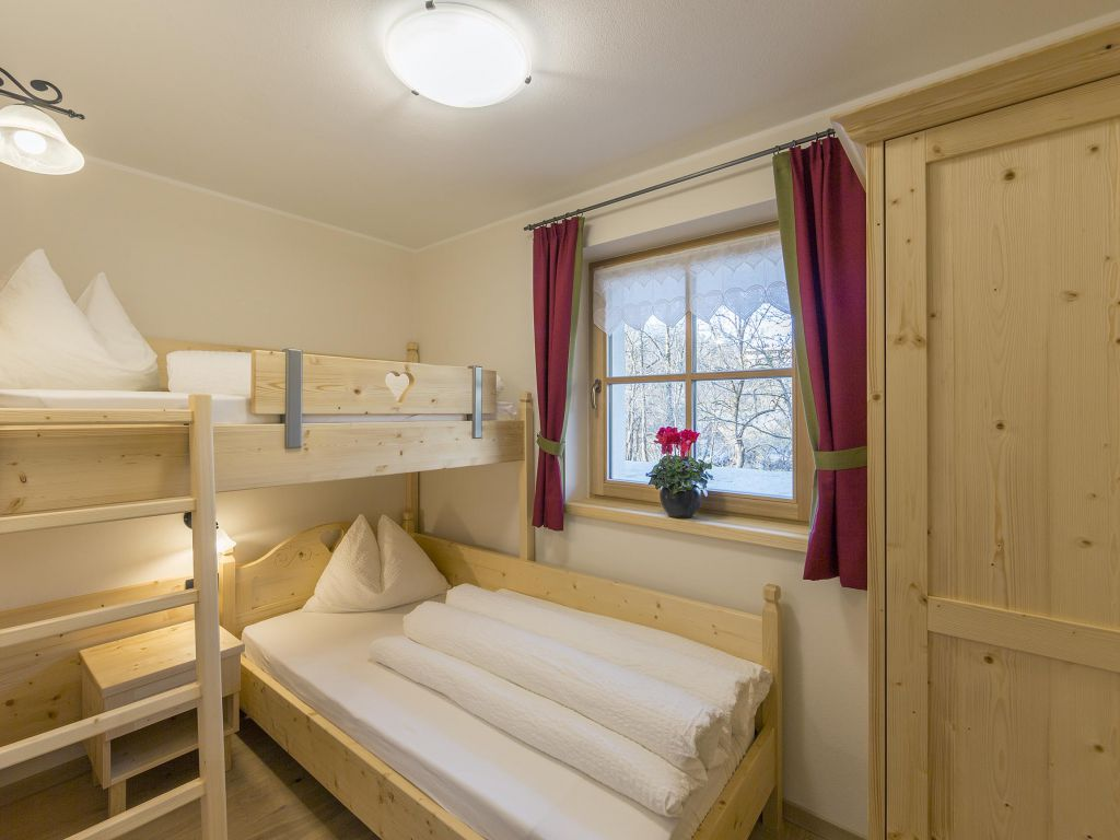 Letto A Castello In Larice.Apartment Larice 50 M Chalet Winklwiese Family Apartments