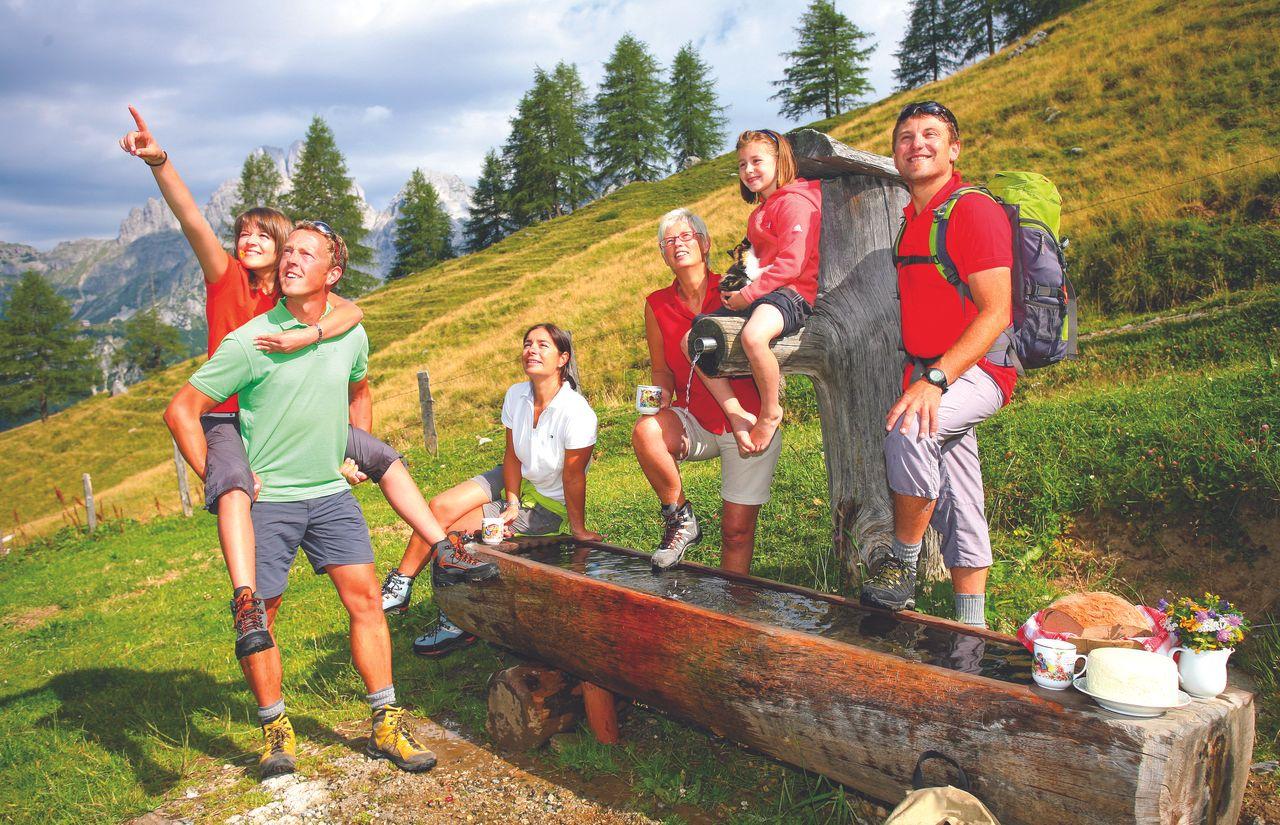 Familienurlaub mit Wandern