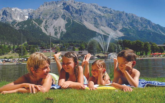Urlaub mit Kindern am Badesee