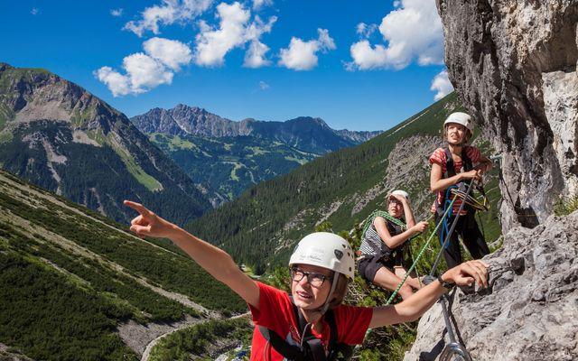 Klettern in Vorarlberg