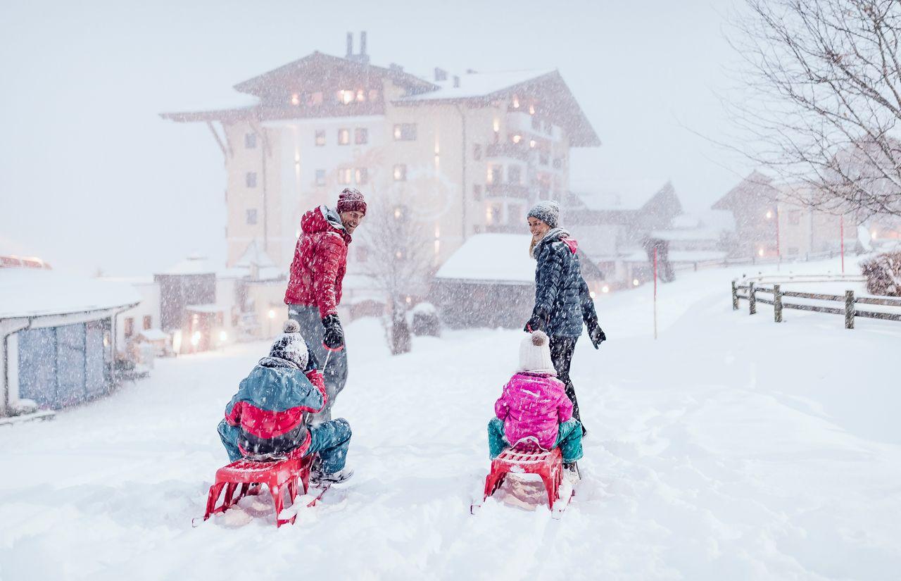 Winterurlaub im Ellmauhof