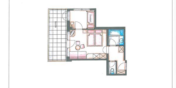 Appartement Hamberg Grundriss