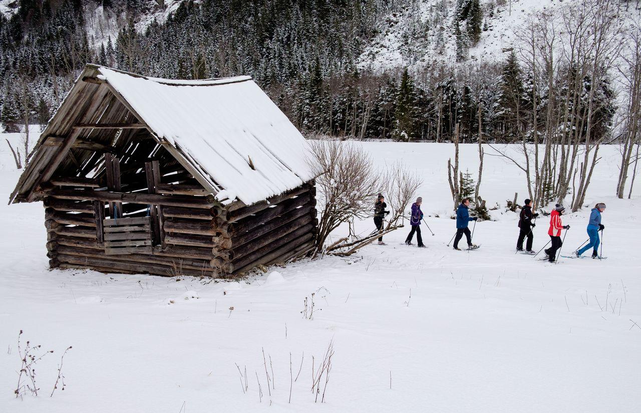 Schneeschuhwanderung Untertal