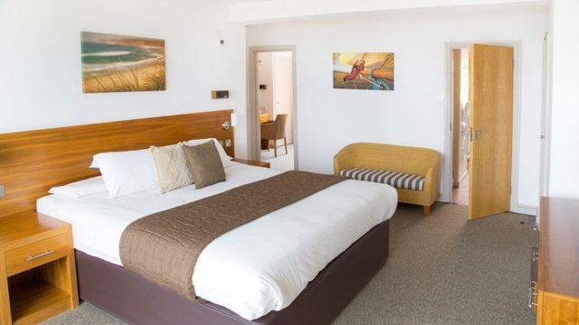 3-Raum Suite mit Meerblick