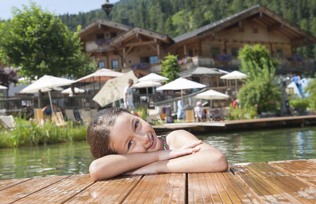 Außen-Pool - Sporthotel Achensee