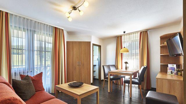 Familienappartement Roseneck | 40 qm - 2 Raum