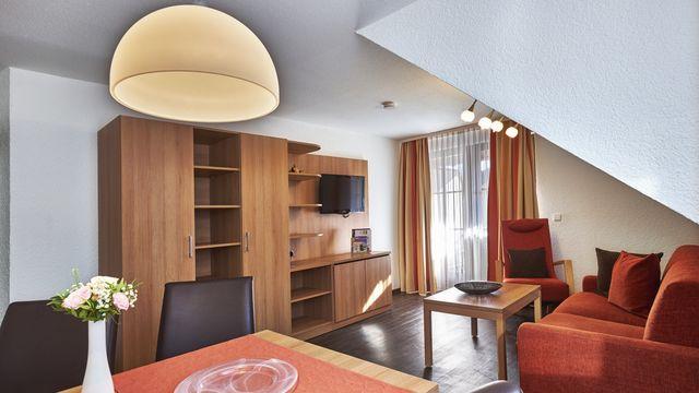 Familienappartement Roseneck  | ca.45 qm - 3 Raum