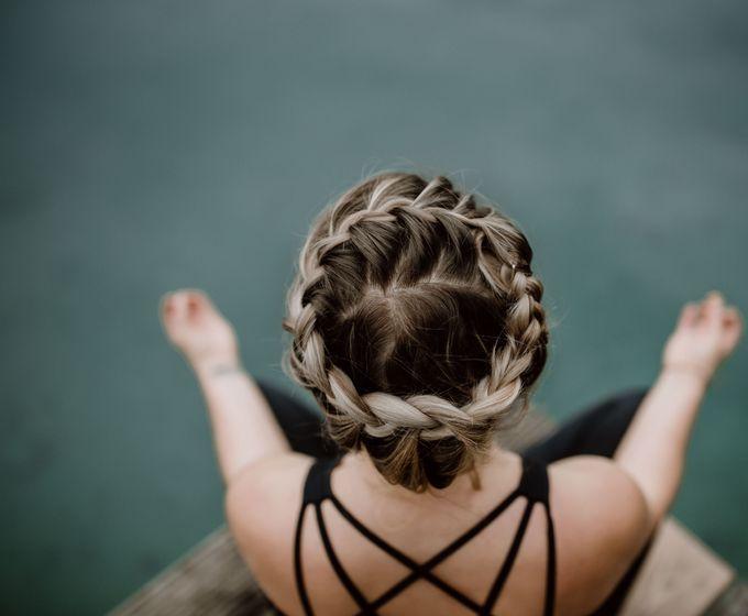 Yoga-Auszeit am See im Oktober