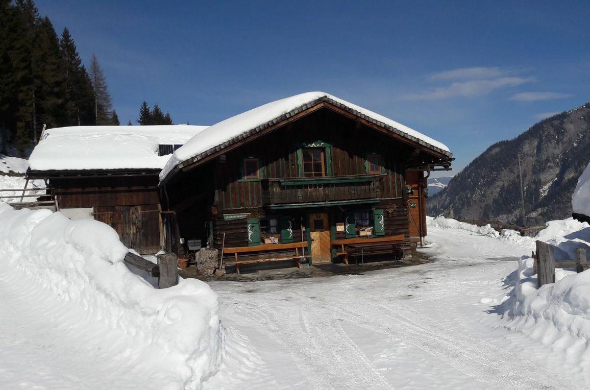 Amoseralm, winter