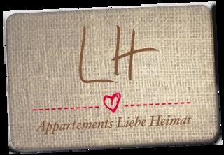 Appartements Liebe Heimat - Logo