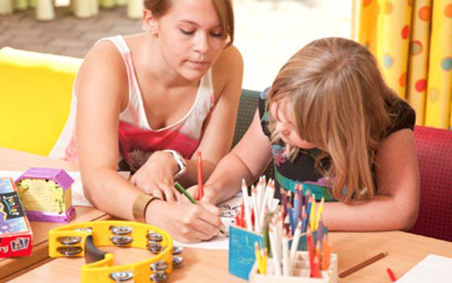 Wöchentliches Programm für Kids