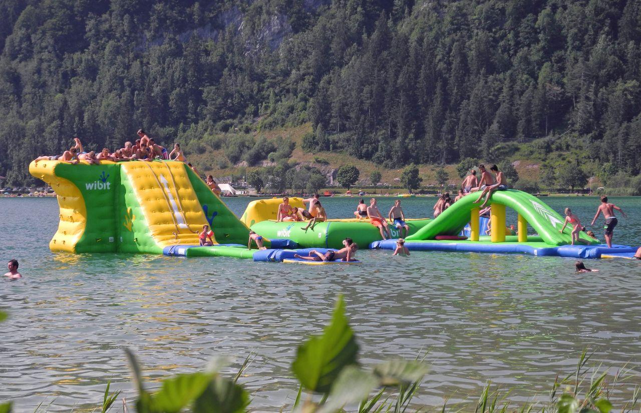 Aqua Fun Park im Walchsee