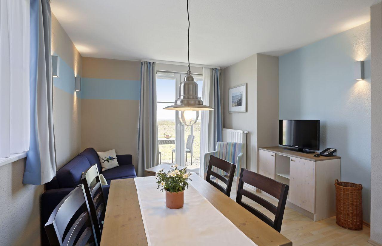Wohnbeispiel Wohnraum Appartement Typ 1