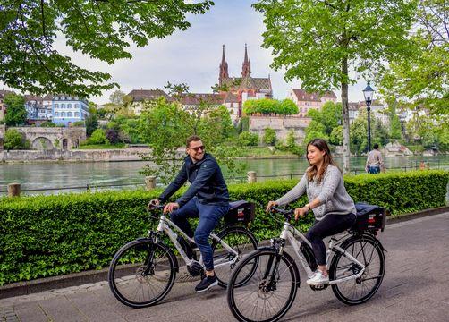 Scoprire la regione di Basilea in e-Bike! - Gaia Hotel