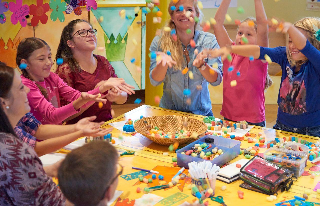 Kidsclub mit täglichem Programm