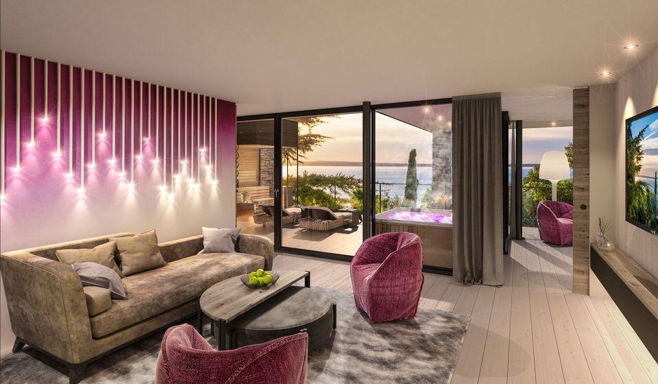 Penthouse Pool Villa