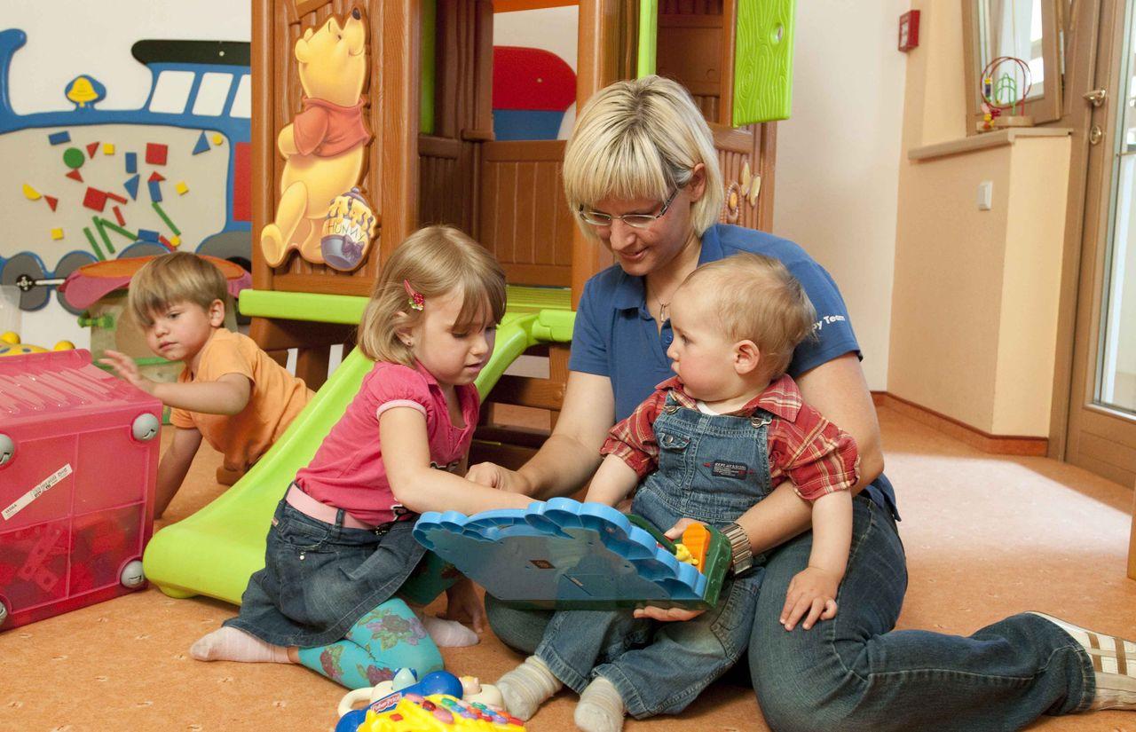 Kinderbetreuung im Baby- und Kinderhotel Aschauerhof
