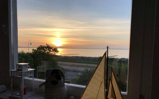 Abenddämmerung über der Ostsee