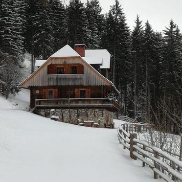 , Almhütte Kuhgraben in Bad St. Leonhard, Kärnten, Carinthia , Austria
