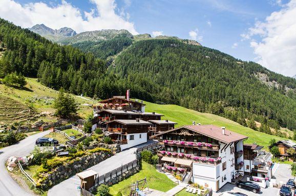 Sommer, Grünwald Chalet II, Sölden, Tirol, Österreich