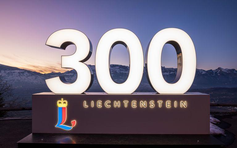 300 Jahre Liechtenstein