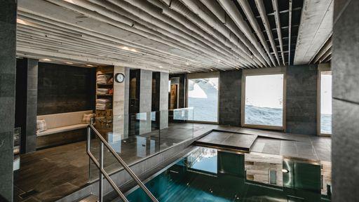 Wellness im Hotel Gorfion in Liechtenstein mit Schwimmbad und Sauna genießen.